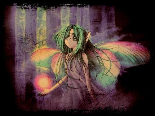 [Compo- Fairy' ] Forêt mystérieuse.
