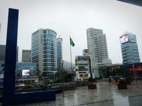 Je suis en Corée du Sud jusqu'au 30 aout;