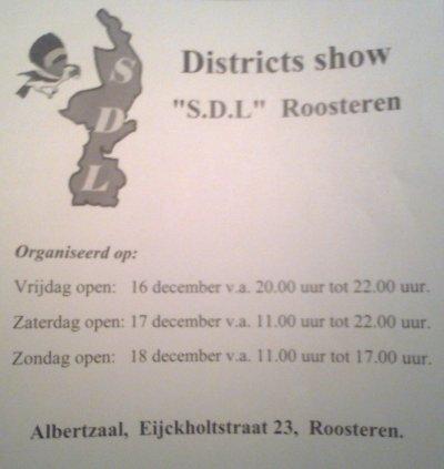 SDL De Vogelshow van Limburg.