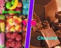 Bonbon VS Chocolat