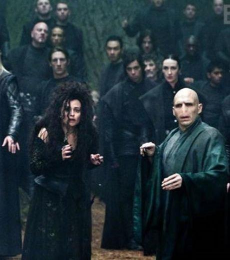 Bellatrix et Voldemort