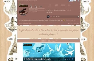 20 BazardDuMonde (EN CE MOMENT BLOG STAR SUR SKYROCK)