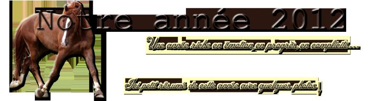 """"""" Notre Année 2012 """""""