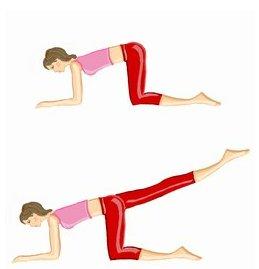 Séances d'exercices à effectuer tout les soirs.