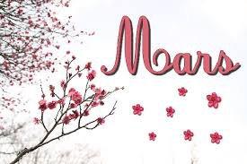 L'almanach du mois de Mars