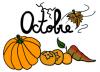 L'almanach du mois d'octobre