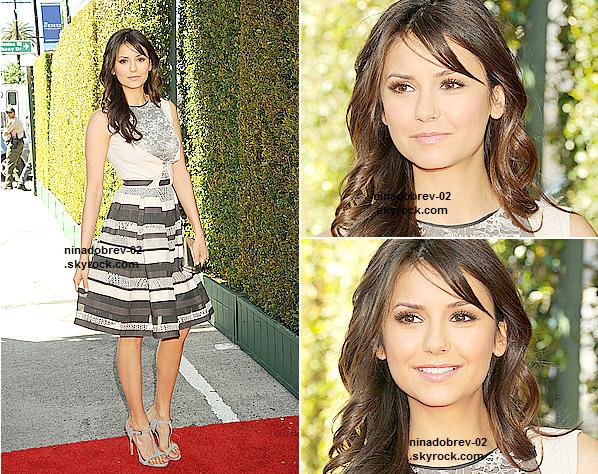 le 10 mars 2013 - Nina était à la 10e édition du « John Varvatos Stuart House Benefit » à Los Angeles.