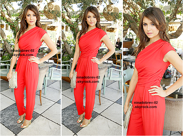le 13 mars 2013 - Nina était présente à la seconde édition des « 25 Most Powerful Stylists Luncheon ».