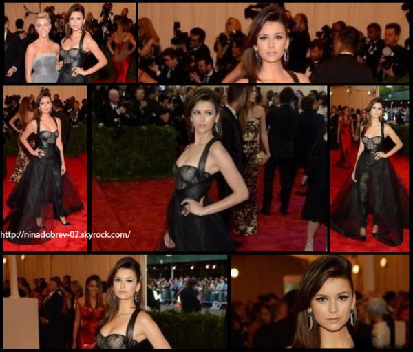6 mai 2013: Nina a assisté au Met Ball à New York.