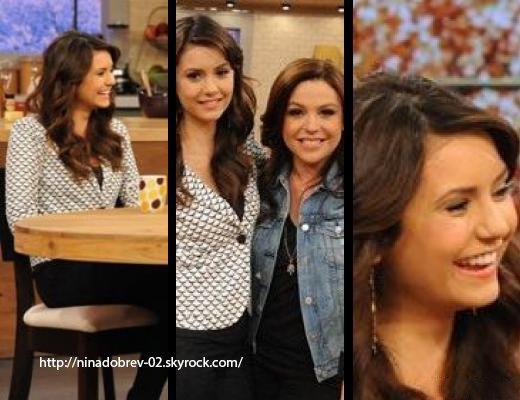 7 mai 2013: Nina a été aperçue lorsqu'elle quittait son hôtel à New York