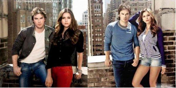 28 mai 2013: Nina était sur le tournage de son film à venir Let's Be Cops, avec l'acteur Damon Wayans Jr.