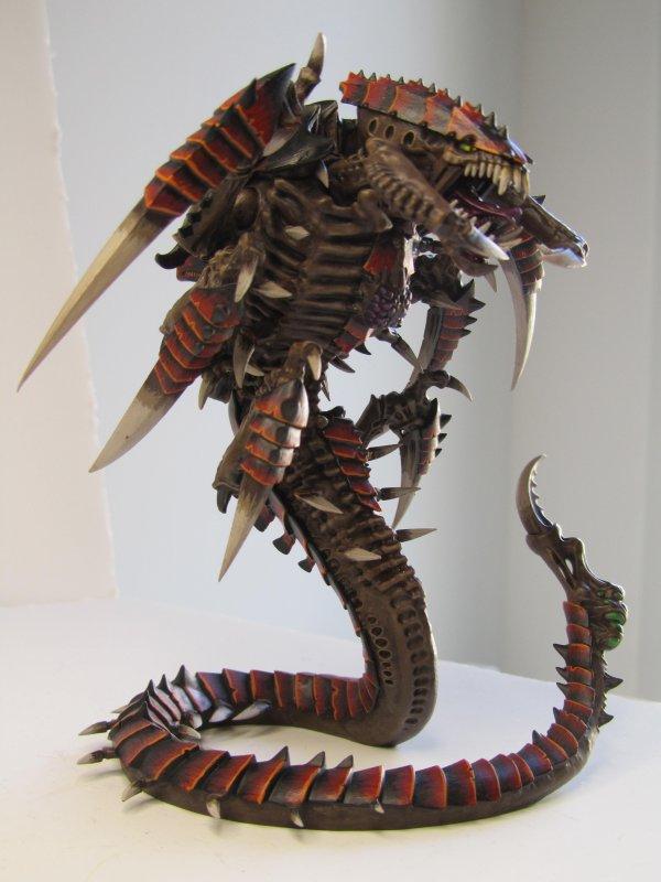 Armée Tyranide, la Flotte-ruche ECHIDNA : TRYGON