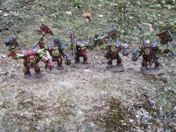 Armée Ork : Nobz
