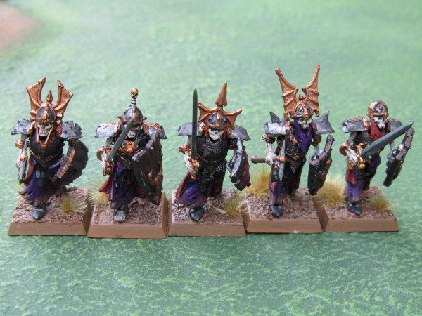 Armée des Comtes Vampires : Gardes des Cryptes