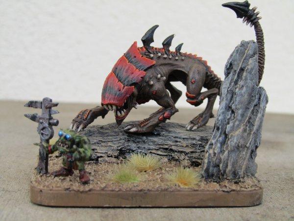 Armée Tyranide, la Flotte-ruche ECHIDNA : BETE DE CHASSE