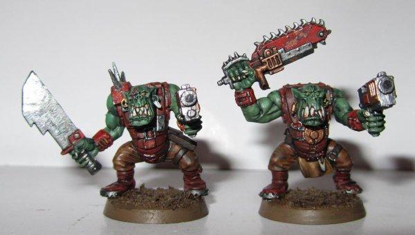 Armée Ork : Boyz
