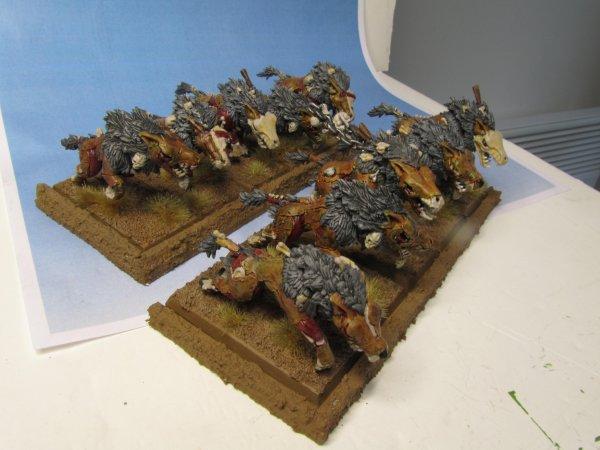 Armée des Comtes Vampires : Loups Funestes