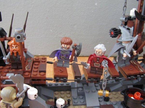 La bataille contre le roi gobelin LEGO