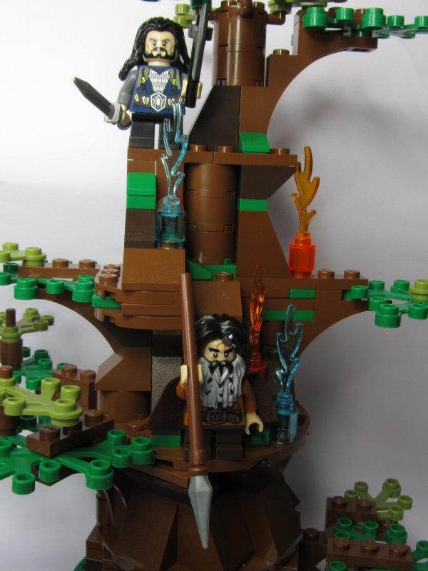 L'attaque des Ouargues LEGO
