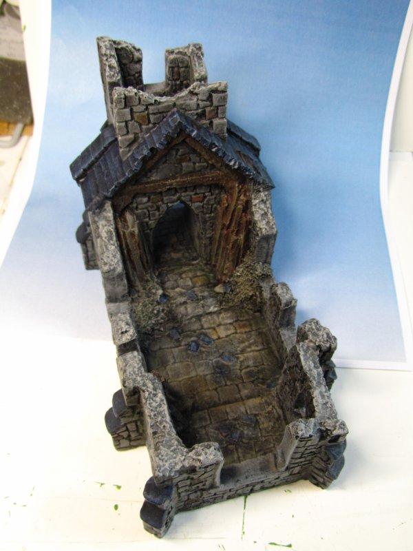 Chapelle en ruine