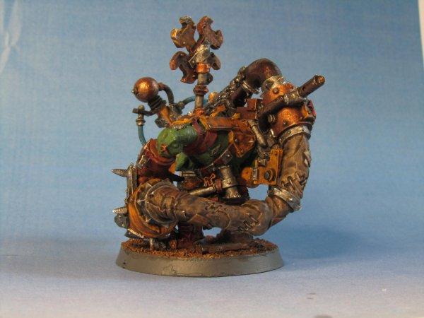 Armée Ork : Gromek avec Shokk Attack Gun