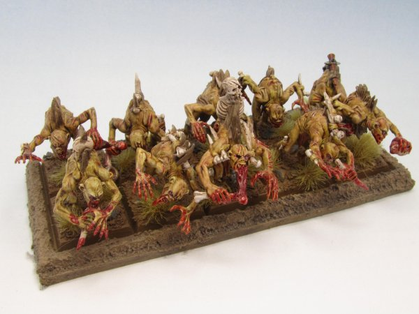 Armée des Comtes Vampires : Goules (WIP)