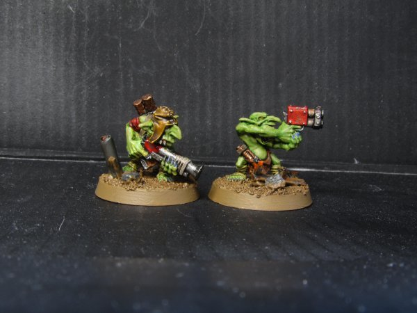 Armée Ork : Rebelles Grots et Grot Huileur