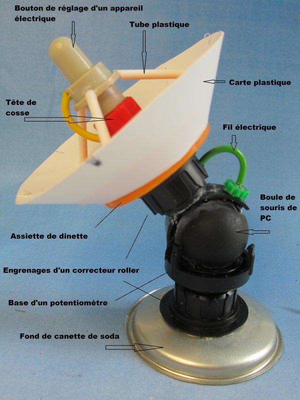 Décor : parabole ork ou radar ork