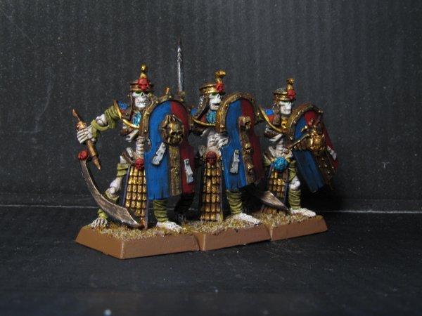 Armée des Rois des Tombes : Gardiens des Tombes, Roi des Tombes et Prêtre Liche
