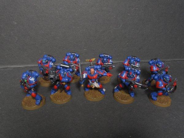 Space Marine : Crimson Patriots