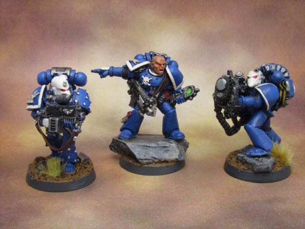 Space Marine divers