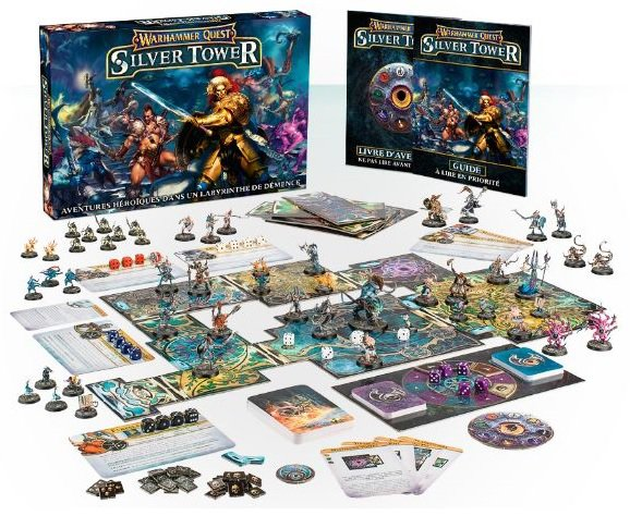 Warhammer Quest : Silver Tower partie 1