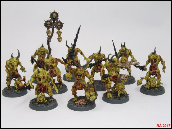 Divers adversaires exotiques Warhammer Quest