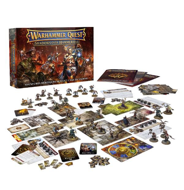Warhammer Quest : Shadows over Hammerhal