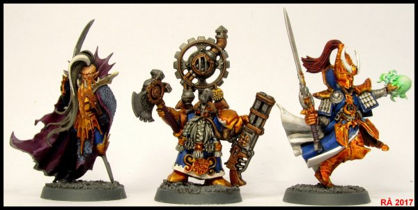 Warhammer Quest : Shadows over Hammerhal figurines