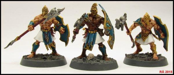Warhammer Quest : Shadows over Hammerhal figurines suite et fin