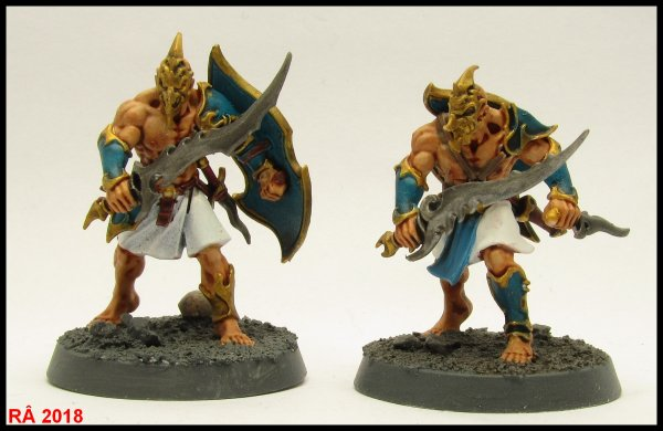 Warhammer Quest : Shadows over Hammerhal figurines suite