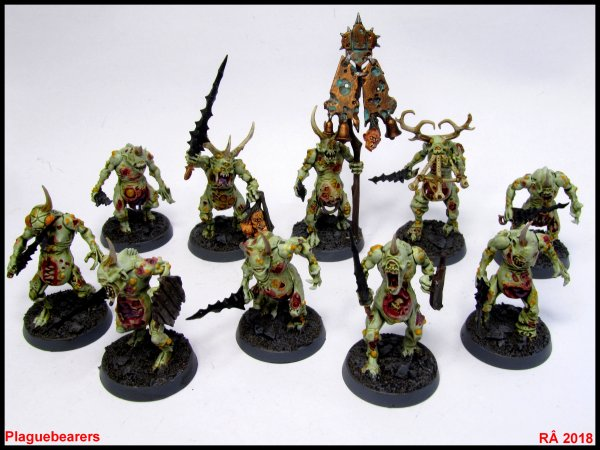 Boite Start Collecting! Daemons of Nurgle et autres