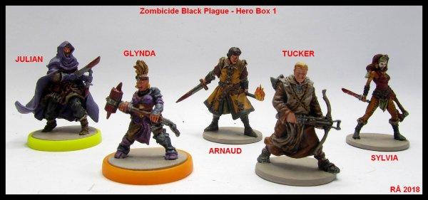 Zombicide Black Plague 1ère partie