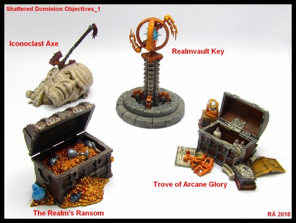 Shattered Dominion Objectives (Marqueurs d'objectifs)