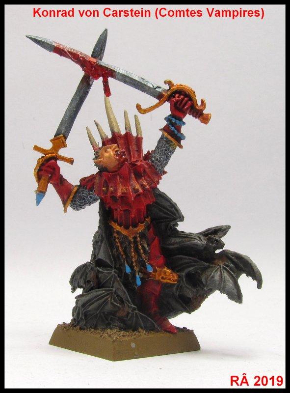 Armée des Comtes Vampires : Konrad von Carsten