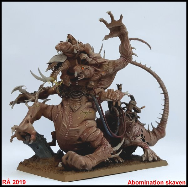 Abomination skaven / Hell Pit Abomination