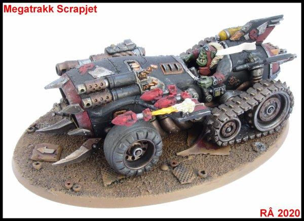 Armée ork : Megatrakk Scrapjet et Deffkilla Wartrike