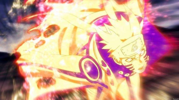 Naruto Mode chakra