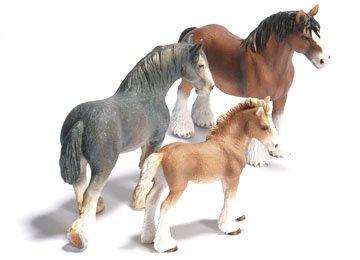 cheval de trait schleich