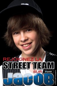 Rejoins la STREET TEAM ;)  Retrouve moi sur mon :  Site Officiel - Facebook - Twitter