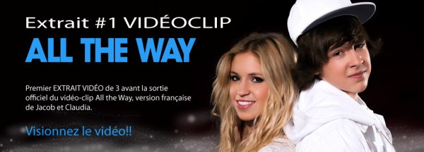 Jacob Teaser 1 avant la sortie officielle de ALL THE WAY !!! Retrouve moi sur mon :  Site Officiel - Facebook - Twitter