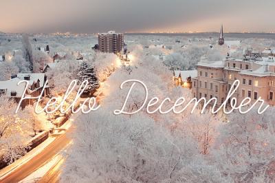 Décembre, le plus beau mois de l'année <3