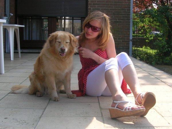 • Mon chien, une proximité qui me va bien ;D