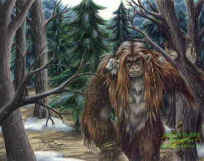 Créatures fantastiques, mythiques et imaginaires n°1 : Le big foot
